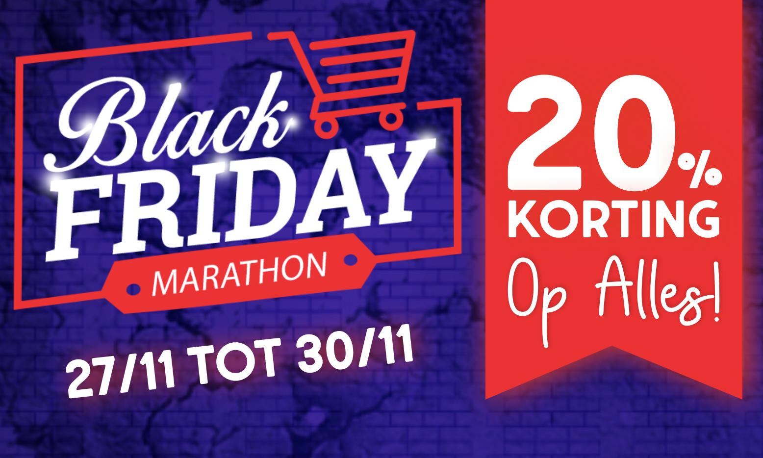 Black Friday Marathon