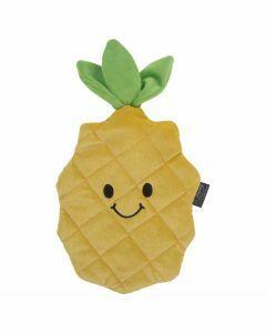Warmwaterkruik-knuffel-ananas-0,8L-warmteknuffel-groen-winter-opwarmen
