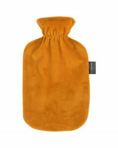 Warmwaterkruik-Fashy-oranje-fluweel-2L-warmte-kruik-met-hoes