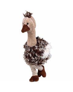 Kersenpitkussen-knuffel-Sanger-struisvogel-sam