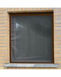 aluminium-vliegenraam-bruin-120x150cm