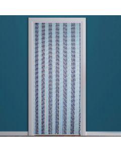 vliegengordijn-knopen-blauw-deur
