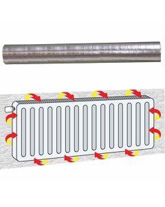 Radiatorfolie-metaal-isolatie