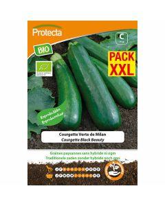 protecta-groentezaden-eco-biologisch-gecertificeerd-XXL-black-beauty-courgettezaden
