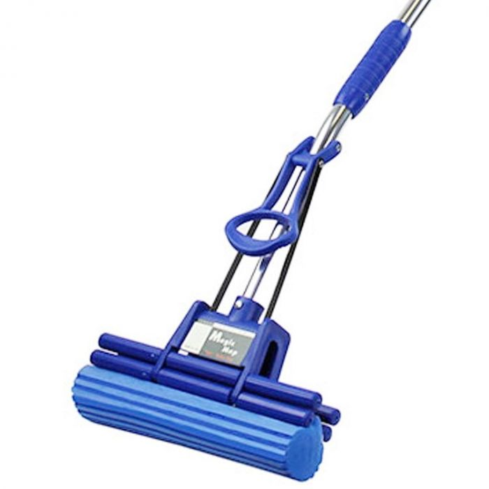 Magic Mop original dweilsysteem, 26 cm - blauw