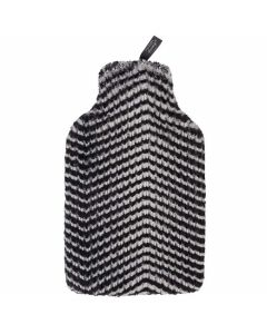 Warmwaterkruik-Fashy-zebraprint-2L