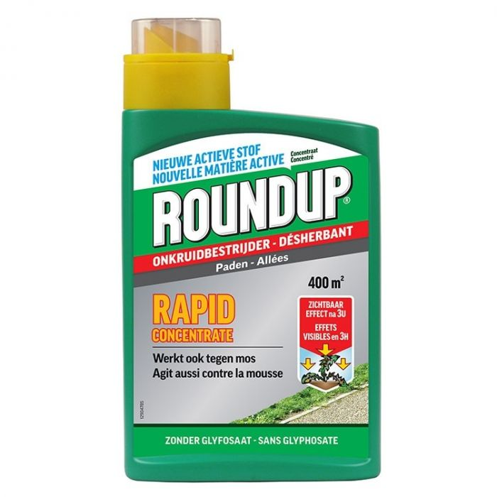 Roundup Rapid Concentrate, paden 900 ml
